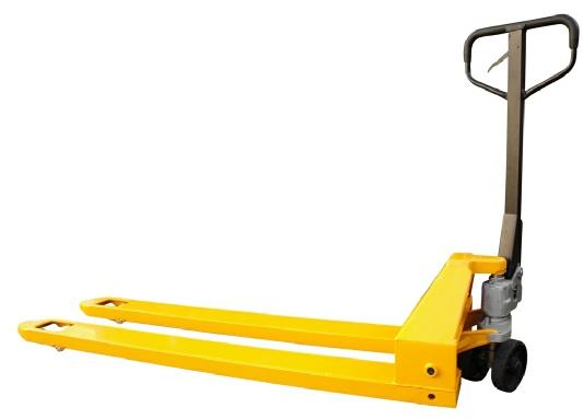 Hubwagen gelb